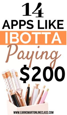 13 Best Apps Like Ibotta to Save Money in 2020 - Earn Smart Online Class Work From Home Careers, Work From Home Companies, Legit Work From Home, Legitimate Work From Home, Earn Money From Home, Make Money Fast, Earn Money Online, Easy Online Jobs, Online Jobs From Home
