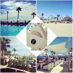 Collage of #PuroMoments in #Purobeach #Marbella