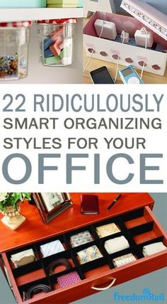 Office organization, keep your office organized, DIY organization, home organization, popular pin, office decor, office inspiration.