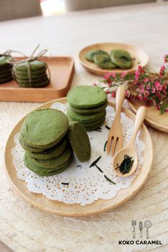 Green tea sables