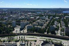 Observation decks: Näsinneula Tower (Tampere, Finland)