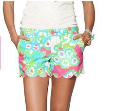 lilly pulitzer scalloped shorts - Google Search