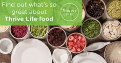 No matter what part of mealtime's most important to you, THRIVE has something great to offer.  http://www.thrivelife.com/pc/event/view/id/156863