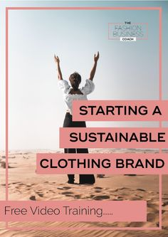 Thinking of starting a sustainable fashion brand? Here's 5 tips to get you going… Sustainable Clothing Brands, Sustainable Fashion, Ethical Clothing, Sustainable Living, Ethical Fashion, Starting A Clothing Business, Brand Marketing Strategy, Fashion Hashtags, Selling On Instagram