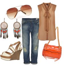 Just casual, created by welaws on Polyvore