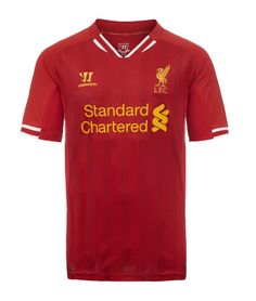Liverpool Football Clubs brand new home kit for the 2013-14 Barclays Premier League season.