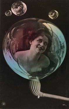 Woman in Soap Bubbles, 1910, via The Metropolitan Museum of Art