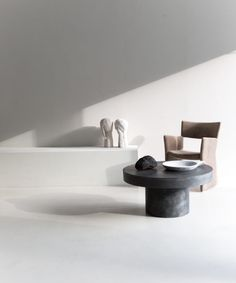 Stone table round – ANNALEENAS HEM AB