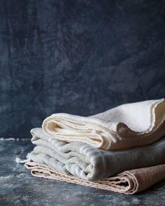 Linen & Cotton Hammam Towels - TOAST