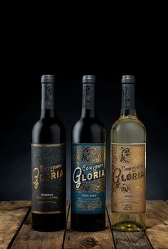 Inspired by the splendor and exuberance of ancient Baroque style, this label design exalts the concept behind these special wines.