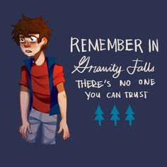 No One You Can Trust   Dipper Pines   Gravity Falls