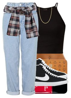 """""""7/9/2015 Morning Polyvore"""" by swagger-on-point-747 ❤ liked on Polyvore featuring MCM, Iphoria, NIKE, Boutique and Giani Bernini"""