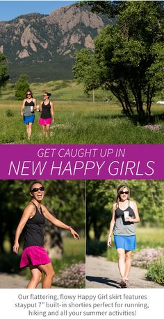 I know a lot of people that absolutely LOVE the Happy Girl skirt for its longer length and perfect coverage. And the new Fall colors are awesome!! www.skirtsports.com @skirtsports #REALwomenmove #converttoskirt #skirtsports #skirtambassador