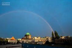 Regenbogen über Hannover © https://www.facebook.com/TCGib
