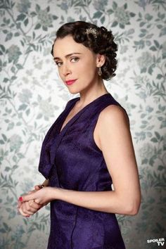Lady Agnes Holland (Keeley Hawes) in Upstairs Downstairs