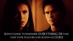 #TVD Drama in season 4..I'm so 19 yrs old when I watch this show(: