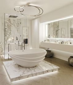 Luxurious marble bathroom designs (14) Tap the link now to see where the world's leading interior designers purchase their beautifully crafted, hand picked kitchen, bath and bar and prep faucets to outfit their unique designs.