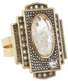 Moritz Glik - Art Deco Ring