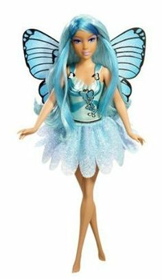 Barbie Mariposa Rayla Doll by Mattel. $39.99. She comes with a brush to style her beautiful long hair too. Wings and fashions can be mixed and matched with sister Rayna and friend Willa dolls too. Catch butterfly fairy Rayla doll from the Barbie Mariposa DVD. Her gorgeous skirt is reversible. Rayla is one of the beautiful sisters and best friend of Mariposa. From the Manufacturer                Barbie Mariposa Rayna Doll! Catch butterfly fairy Rayla doll from the Barbi...