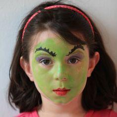 Witch Face Paints & Glitter: Face Paint Supplies: Lowest Priced Name Brand Face Paints Witch Face Paint, Mime Face Paint, Face Paint Makeup, Halloween Make Up, Halloween Face, Halloween Skirt, Halloween Ideas, Simple Witch Makeup, Face Paint Brushes