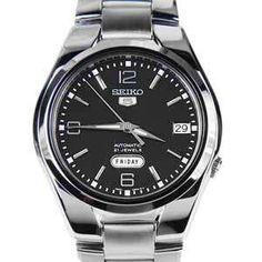 Seiko 5 Finder - Automatic Watch - specifications, links to sellers, similar watches and accessories Seiko 5 Automatic, Automatic Watch, Seiko 5 Watches, Dress Watches, Seiko Men, Mechanical Watch, Stainless Steel Bracelet, Bracelet Watch, Bracelets