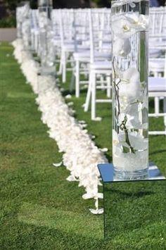 giant vases transparent