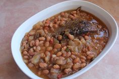 Brisket and Beans are a staple in Texas. Cooked together in the same pan, they are double GOOD!