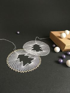 Crochet Earrings Pattern, Types Of Lace, Lace Art, Bobbin Lace Patterns, Lacemaking, Lace Jewelry, Needle Lace, Birthday Gifts For Her, Crochet Flowers