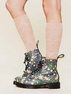 Liberty London and Dr. Martens 1460 Boots  http://www.freepeople.com/whats-new/liberty-london-and-dr-martens-1460-boots/