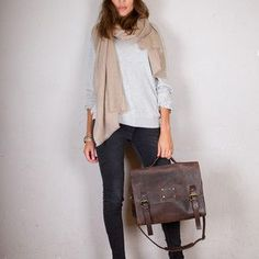 Love this with flats for a fall look