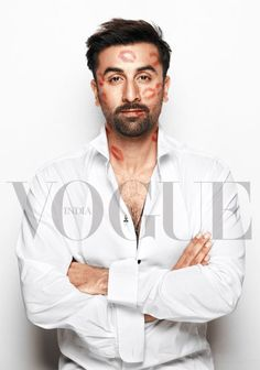 Ranbir Kapoor poses for 'Vogue' Empower India