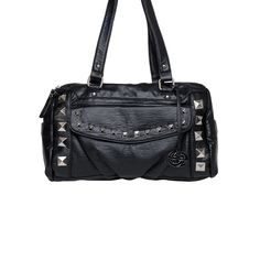 I love the Red by Marc Ecko Spike Edgy Satchel from LittleBlackBag