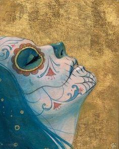 Day of the Dead Skull Día de los Muertos calaveras zazzle_print