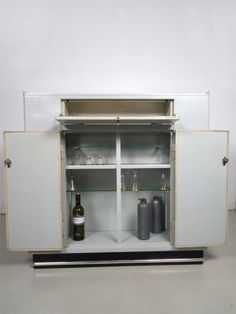 Dentist cabinet made by Baisch - as good a bar a any cabinet!