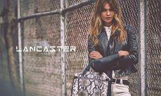 Behati Prinsloo for Lancaster Paris Fall 2015 Ad Campaign