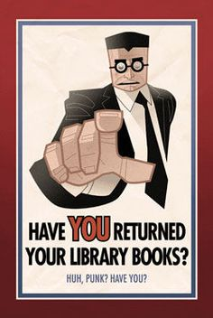 Have you returned your library books?