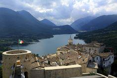 Lago di Barrea - from the castle