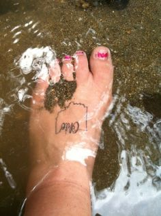 "Without the Ohio and on my ankle instead.  (Pic not mine, pin ""led to inappropriate site"" so I just uploaded myself.)"