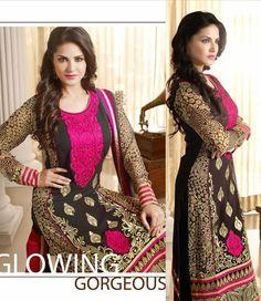 #Black #Eid Churidar #Fashion #Design | @ $79.46