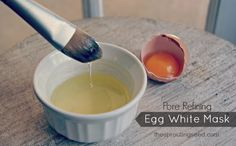 Cách làm trắng da và trị mụn bằng Trứng Gà
