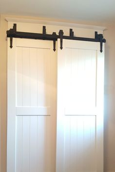 Create a New Look for Your Room with These Closet Door Ideas and Design Ikea, mo. - Create a New Look for Your Room with These Closet Door Ideas and Design Ikea, modern - Bypass Barn Door Hardware, Barn Door Closet, Pantry Closet, Kitchen Pantry, Kitchen Doors, Cupboard Doors, Diy Kitchen, Stairs Kitchen, Barn Door Pantry