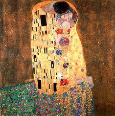 Gustav Klimt  (Der Kuss)