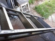 fém galéria Ladder, Stairway, Ladders