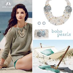 Shop the new Heirloom Pearl capsule collection on my c+i boutique! https://www.chloeandisabel.com/boutique/littlewing