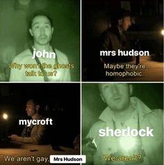 Read Memes from the story Johnlock Facts by with 596 reads. Sherlock Bbc, Sherlock Fandom, Sherlock Holmes Benedict Cumberbatch, Watson Sherlock, Sherlock Quotes, Jim Moriarty, Sherlock Holmes Funny, Johnlock, Martin Freeman