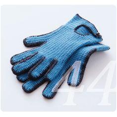 Gehäkelte Handschuhe