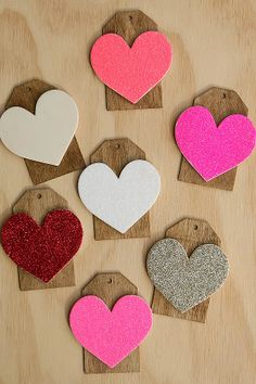 Valentine's Day idea: Heart Gift Tags