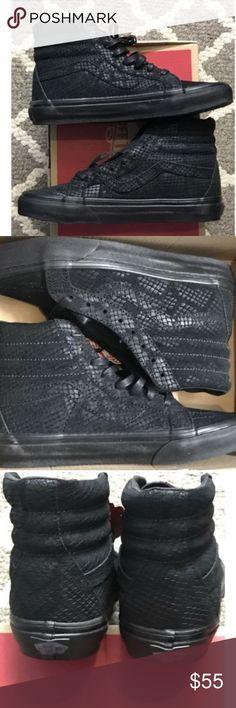 e05d248f6ae Vans Sk8 Hi Reissue DX Reptile Black Skate Shoes Vans Sk8 Hi Reissue DX  Reptile Black