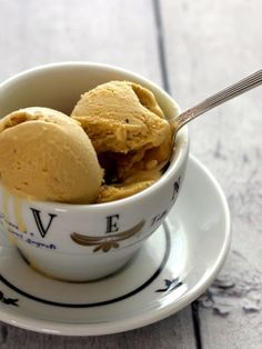 Coffee Ice Cream....another fave. This has been my first choice ice cream flavor since I was a kid.