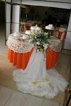 Decoración de mesas de tortas
